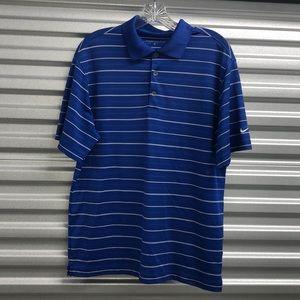Blue Nike Golf shirt
